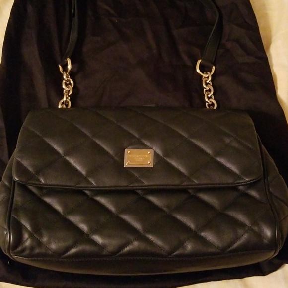 de00571cb8f4 Dolce   Gabbana black shoulder purse with tags